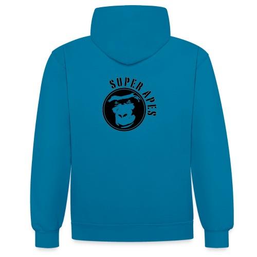Sweet Capuche Super Apes - Sweat-shirt contraste