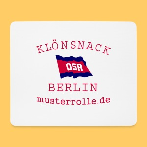 Klönsnack Berlin Mouse Pad - Mousepad (Querformat)