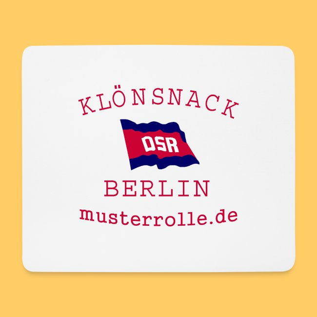 Klönsnack Berlin Mouse Pad