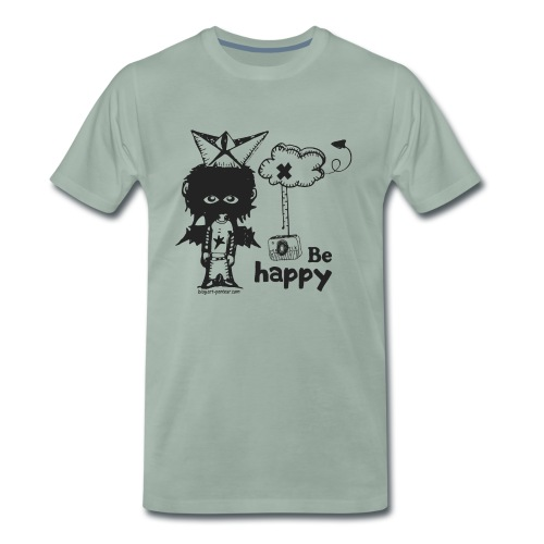 Be Happy - Man - T-shirt Premium Homme