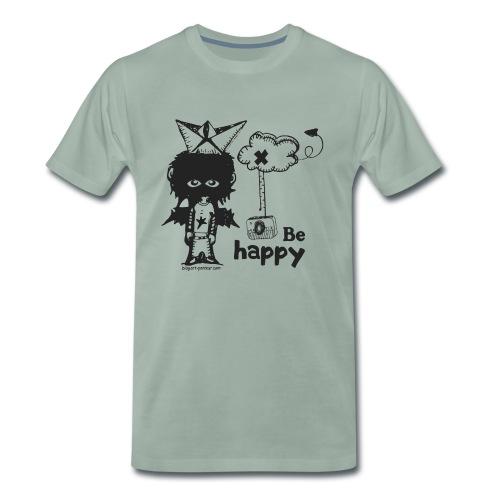 Be Happy - Man - T-shirt Premium Homme