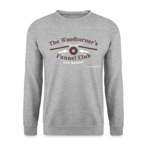 Funnel Club Grey Sweatshirt - Men's Sweatshirt