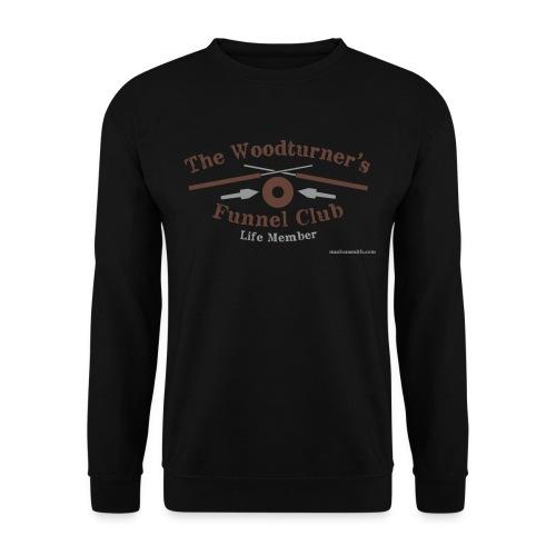 Funnel Club Black Sweatshirt - Men's Sweatshirt