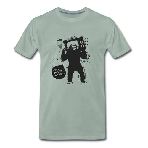 Monkey - Man - T-shirt Premium Homme