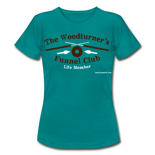 Lady's Green Funnel Club T-Shirt - Women's T-Shirt