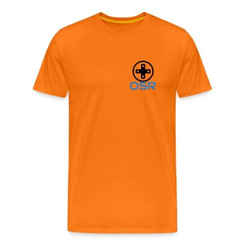 OSR T-Shirt Orange - Männer Premium T-Shirt