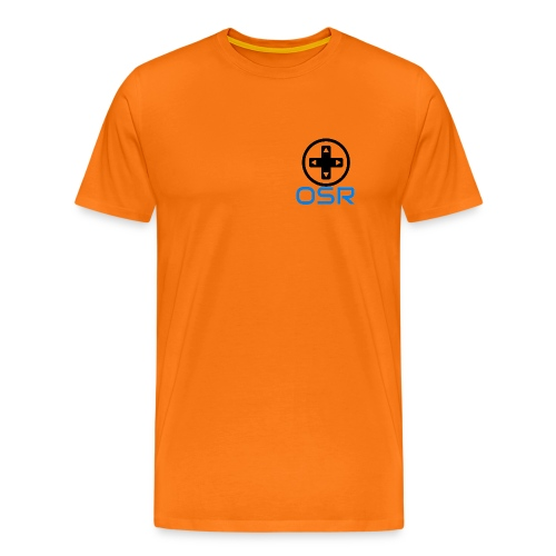 OSR T-Shirt Orange - Männer Premium T-Shirt