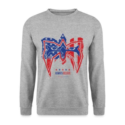 Ultimate Warrior Always Believe USA Sweatshirt - Men's Sweatshirt