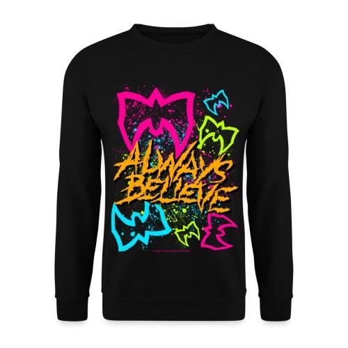 Ultimate Warrior Always Believe Sweatshirt - Men's Sweatshirt