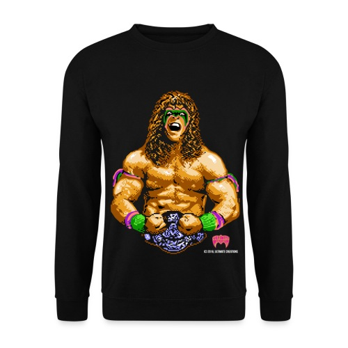 Ultimate Warrior 8-Bit Sweatshirt - Men's Sweatshirt
