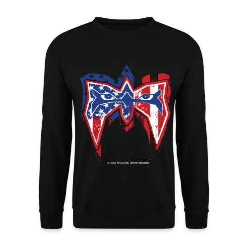 Ultimate Warrior USA Sweatshirt - Men's Sweatshirt