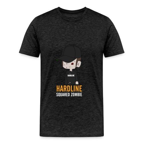 Hardline Squared Zombie Shirt pour hommes - T-shirt Premium Homme