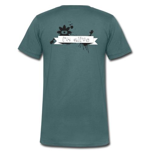 I'm Alive - Man - T-shirt bio col V Stanley & Stella Homme