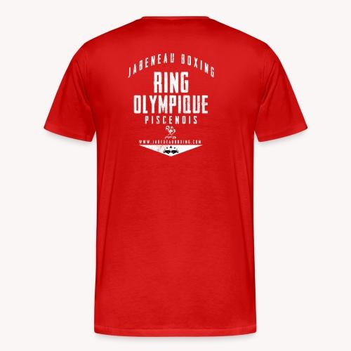 Tee Shirt Rouge Homme JB - T-shirt Premium Homme