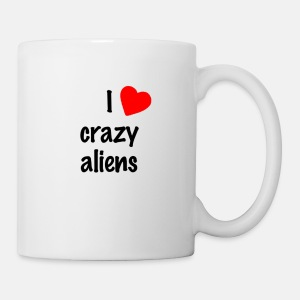 Crazy Aliens - Tasse