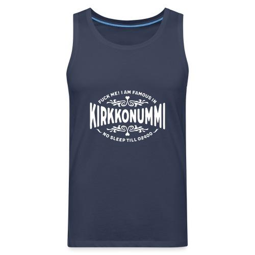 Kirkkonummi - Fuck me! - Miesten premium hihaton paita