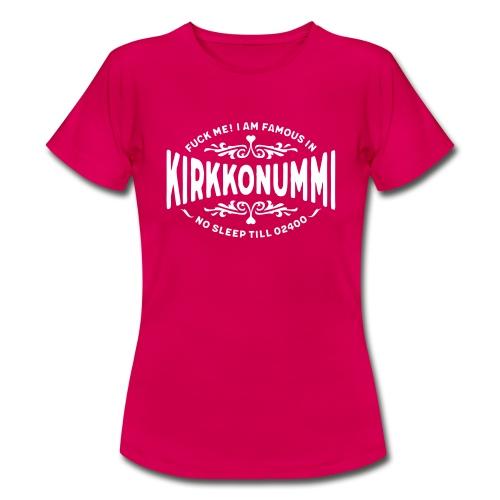 Kirkkonummi - Fuck me! - Naisten t-paita