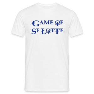 Game of SF Lotte Shirt Weiss Männer - Männer T-Shirt