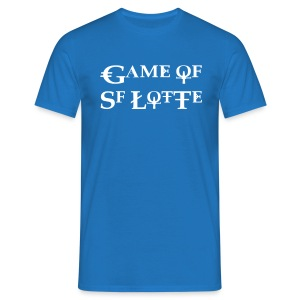Game of SF Lotte Shirt Blau Männer - Männer T-Shirt