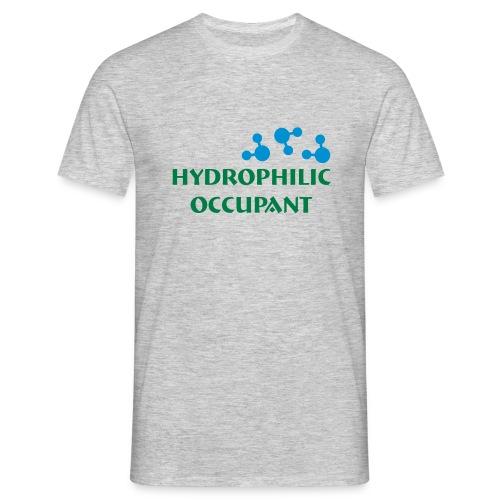 Hydro-Occ. Mens T-Shirt - (HydroOcc 2 colour - frt/lg) - Men's T-Shirt
