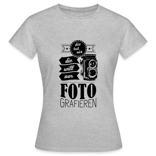 Fotografin klassisches T-Shirt - Frauen T-Shirt