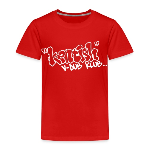 Kids premium t-shirt with white logo - Kids' Premium T-Shirt