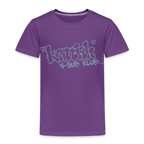 Kids premium t-shirt with silver logo - Kids' Premium T-Shirt