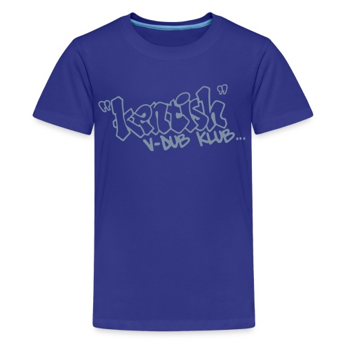 Premium Teen t-shirt with silver logo - Teenage Premium T-Shirt