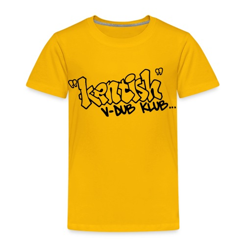 Kids premium t-shirt with black logo - Kids' Premium T-Shirt