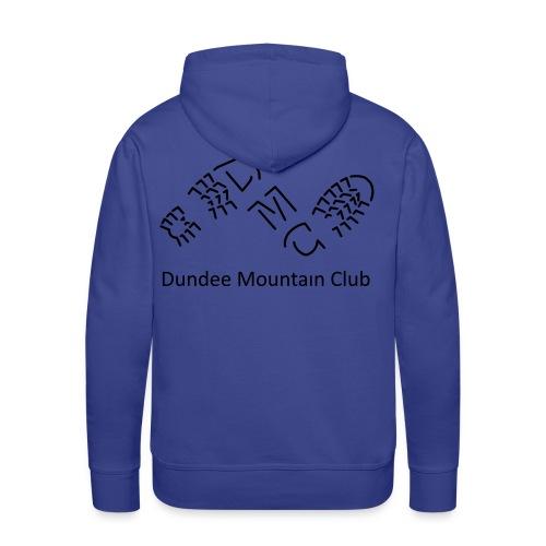 Men's Premium Hoodie DMC Motif - Men's Premium Hoodie
