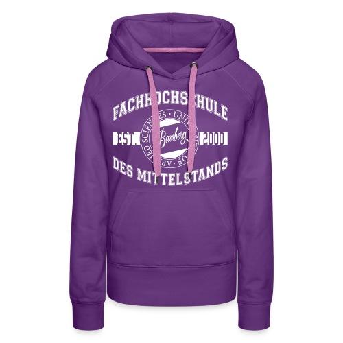 Kapuzenpullover Frauen: Bamberg - Frauen Premium Hoodie