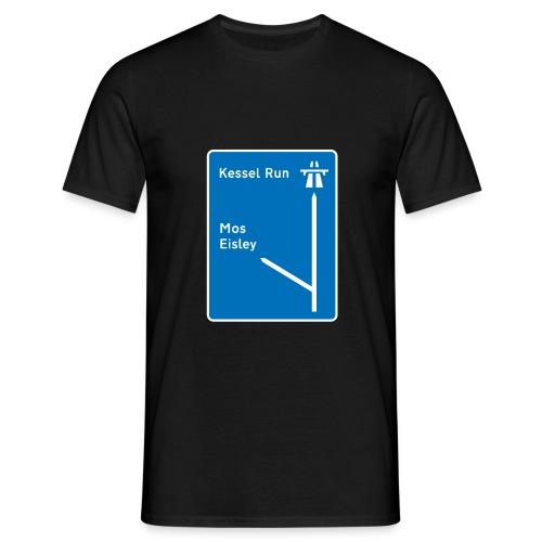Kessel Run  - Men's T-Shirt