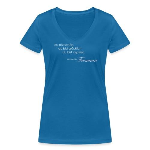 Spruch #1 - Frauen Bio-T-Shirt mit V-Ausschnitt von Stanley & Stella