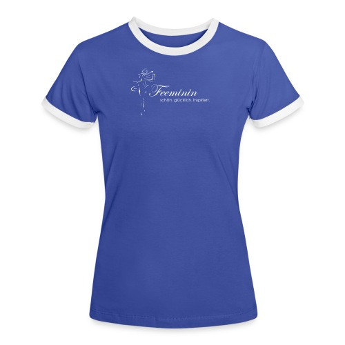Logo - Frauen Kontrast-T-Shirt