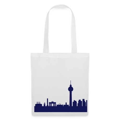 Beutel Berlin Skyline - Stoffbeutel