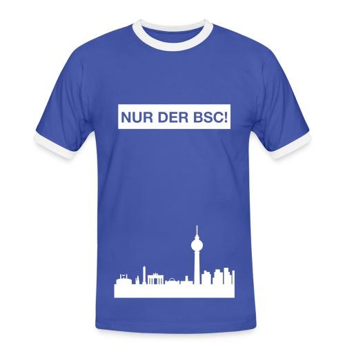 Nur der BSC - Herren T-Shirt - Männer Kontrast-T-Shirt