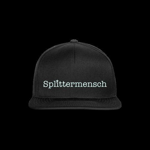 Schriftzug-Cap I - Snapback Cap