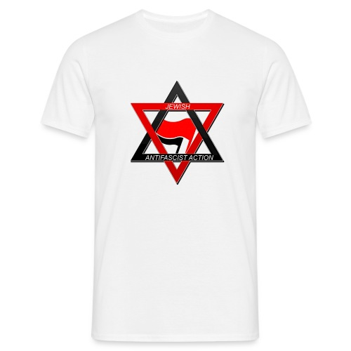 Jewdas Antifa - Men's T-Shirt