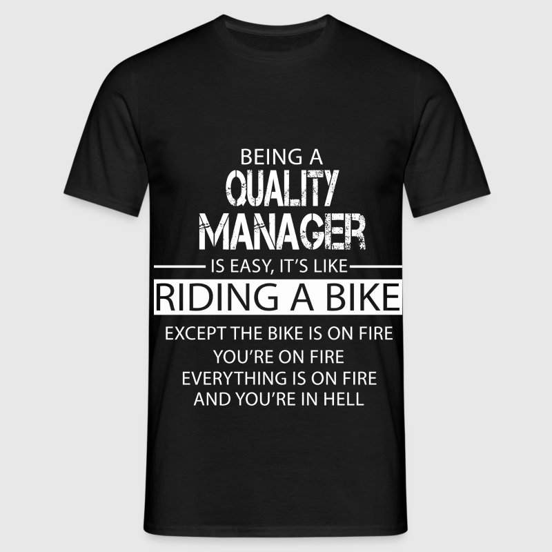 Quality Manager T-Shirts - Men's T-Shirt