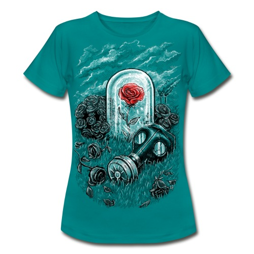 The Last Flower On Earth - Women's T-Shirt