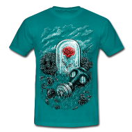 Tee shirts ~ Tee shirt Homme ~ The Last Flower On Earth
