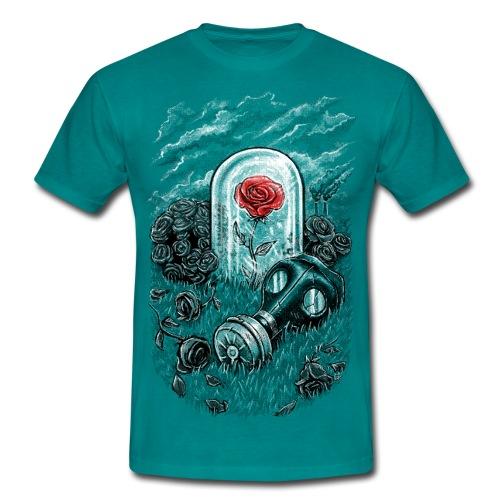 The Last Flower On Earth - Men's T-Shirt