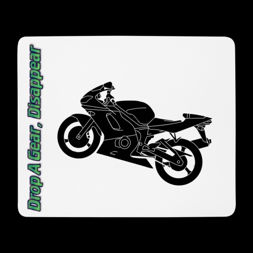 Mouse Mat - Drop A Gear, Disappear - Mouse Pad (horizontal)