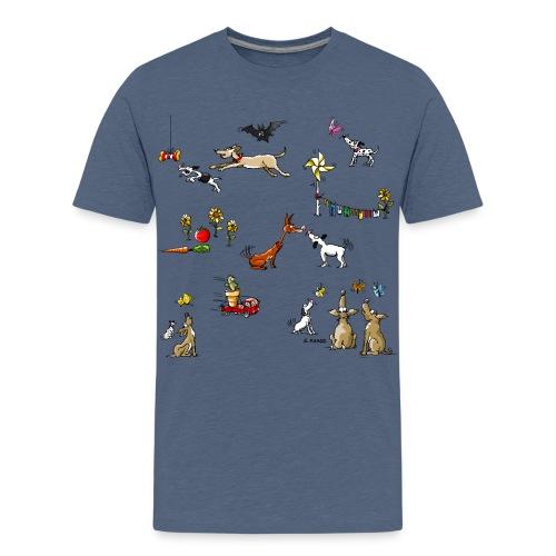 Luna-Design - Teenager Premium T-Shirt