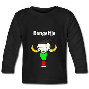 T-shirt met lange mouwen Bengeltje bananen zwart - T-shirt