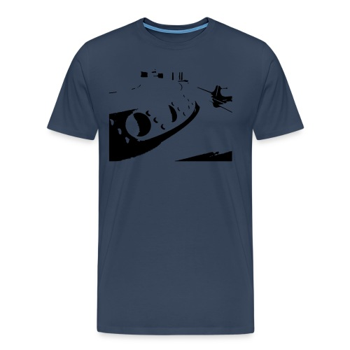 dj desk - Männer Premium T-Shirt