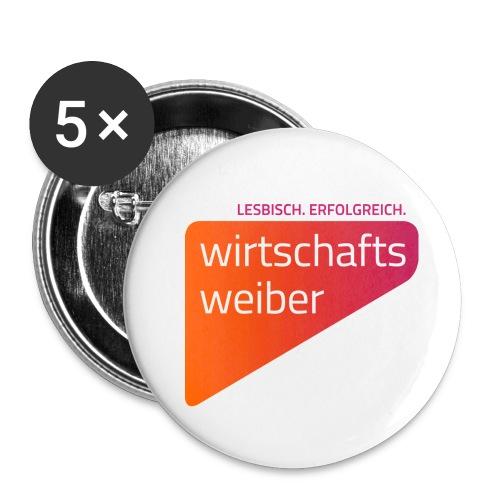 Button, 56 mm, 5-Pack - Buttons groß 56 mm (5er Pack)