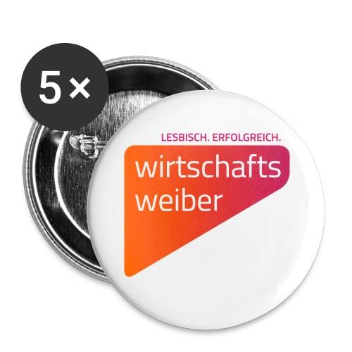 Button 25 mm, 5-er Pack - Buttons klein 25 mm (5er Pack)