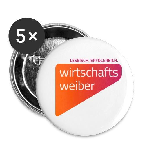 Button, 32 mm, 5-er Pack - Buttons mittel 32 mm (5er Pack)