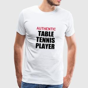 Table Tennis - Ping Pong - Sport - Racket - Ball Tee shirts - T-shirt Premium Homme